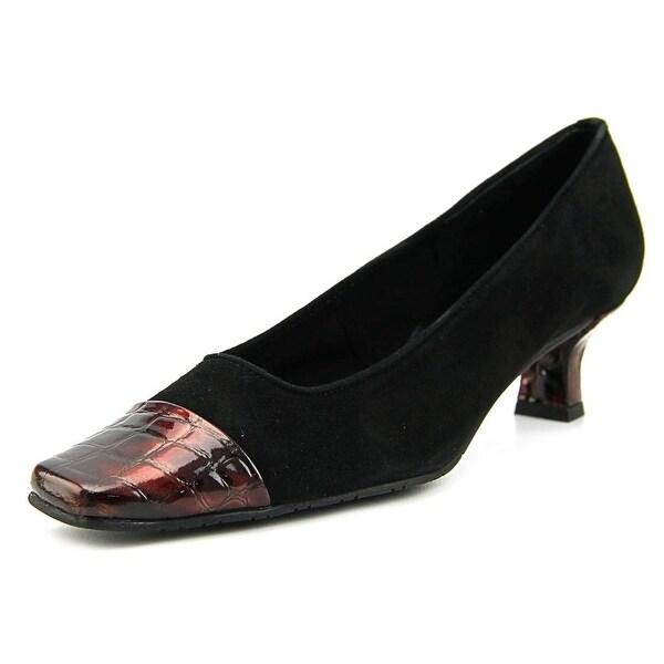 Mezzo Rickie Women N/S Round Toe Suede Black Heels