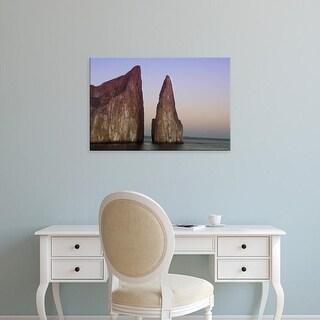 Easy Art Prints Cindy Miller Hopkins's 'Galapagos Kicker Rock' Premium Canvas Art