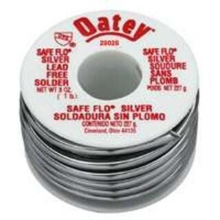 Oatey 29025 Solder Safe Flo, Silver, 1 lbs