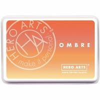 Hero Arts 128090 Ombre Ink Pad - Butter To Orange