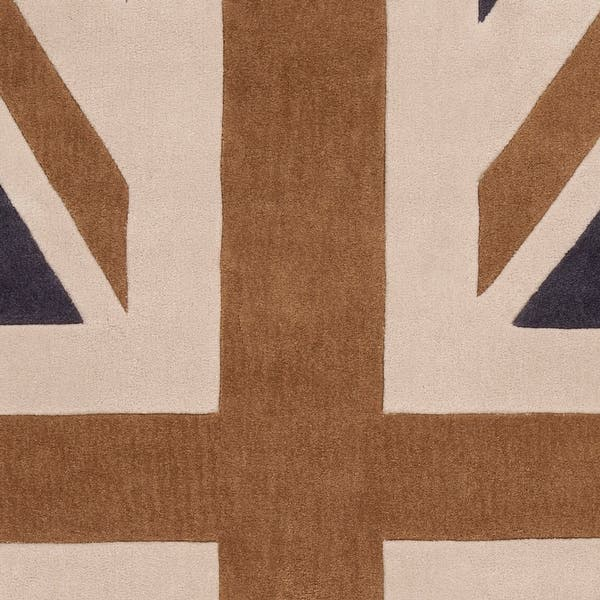 Union Jack Novelty Runner Area Rug
