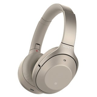 Sony WH-1000XM2 Wireless Noise-Cancelling Over-Ear Headphones with Mic and Remote