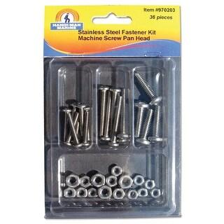 Handi-Man Phillips Pan Head Machine Screw Kit - 36 Pieces