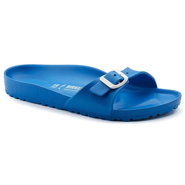 Shop Birkenstock Womens Eva Madrid Open Toe Beach Slide