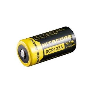 NITECORE NL166 650mAh Rechargeable Li-ion RCR123A/16340 Battery