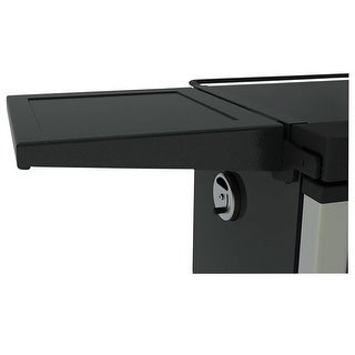 Masterbuilt 20101613 Smoker Side Shelf, Steel, Black