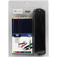 Drawing Pencil With Case - Clamshell Art Sets