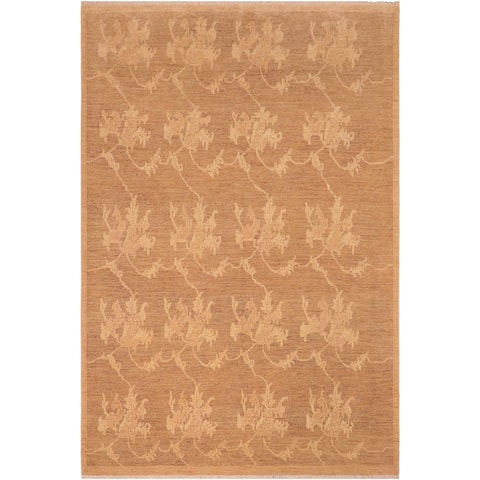 """Bohemien Ziegler Xiao Hand Knotted Area Rug -7'11"""" x 9'7"""" - 7 ft. 11 in. X 9 ft. 7 in."""