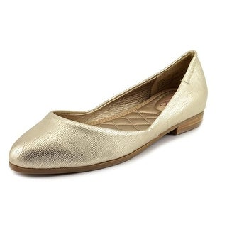 Me Too Betti 5 Women Round Toe Leather Flats