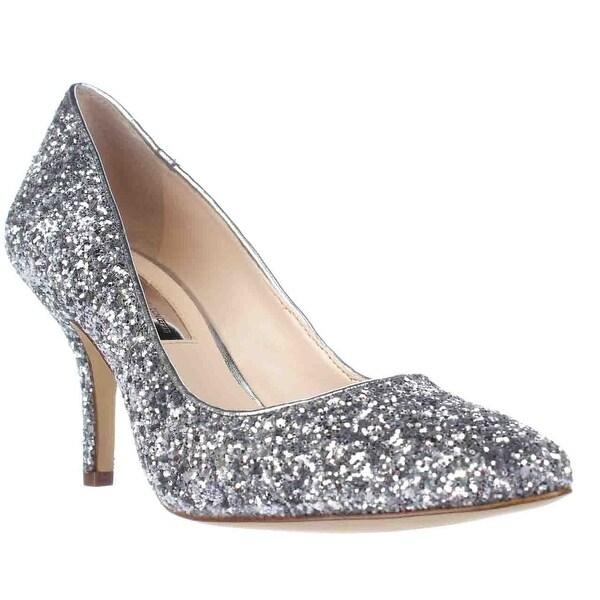 I35 Zitah2 Dress Pump Heels, Silver