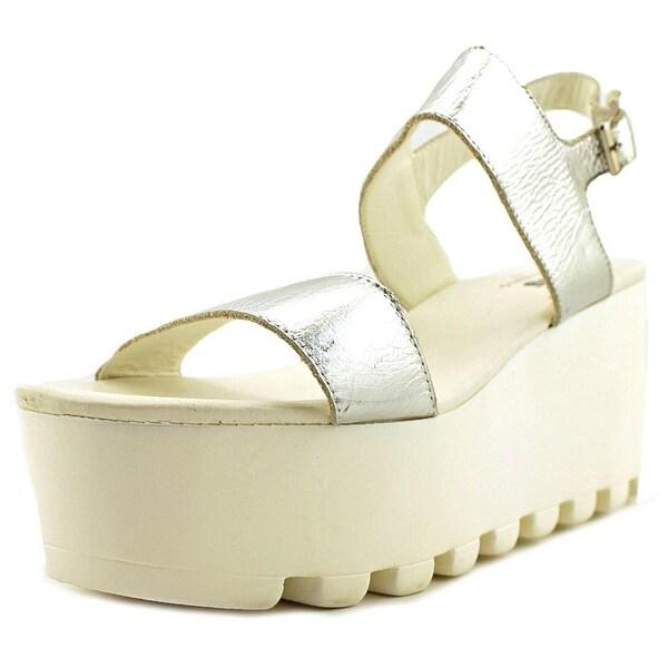 MTNG 93946 Women Metalic Silver Sandals