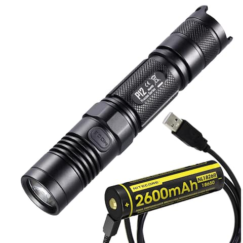 NITECORE P12 Precise Series 1000 Lumen Flashlight with USB Rechargeable Battery