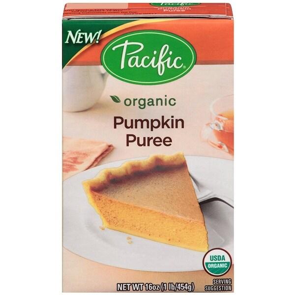 Pacific Natural Foods Pumpkin Puree - Organic - Case of 12 - 16 oz.