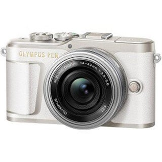 Mirrorless Micro Four Thirds Digital Camera with 14-42 mm Lens,