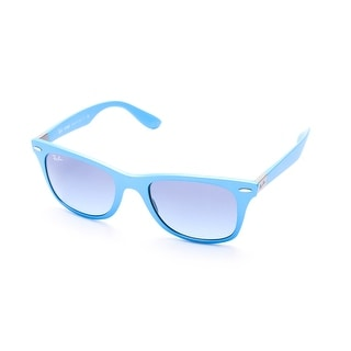 Ray-Ban Wayfarer Liteforce Sunglasses Blue - Small