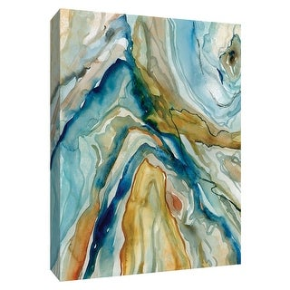 """PTM Images 9-148538  PTM Canvas Collection 10"""" x 8"""" - """"Geo Formation I"""" Giclee Abstract Art Print on Canvas"""