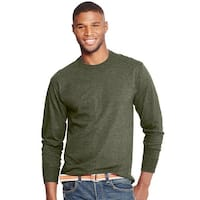 Hanes X-Temp® Men's Long-Sleeve T-Shirt - Size - XL - Color - Camouflage Green Heather