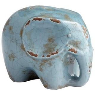 "Cyan Design 8766 Stampy 5"" Tall Terra Cotta Elephant Figurine"