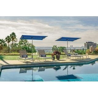 Link to SimplyShade Capri 4.96'x6.93' Rectangle Balcony Umbrella Similar Items in Patio Umbrellas & Shades