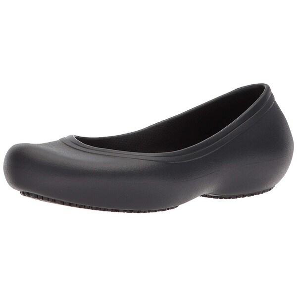 c157534a7056a Shop Crocs Women's Crocs at Work Slip Resistant Flat, Great ...