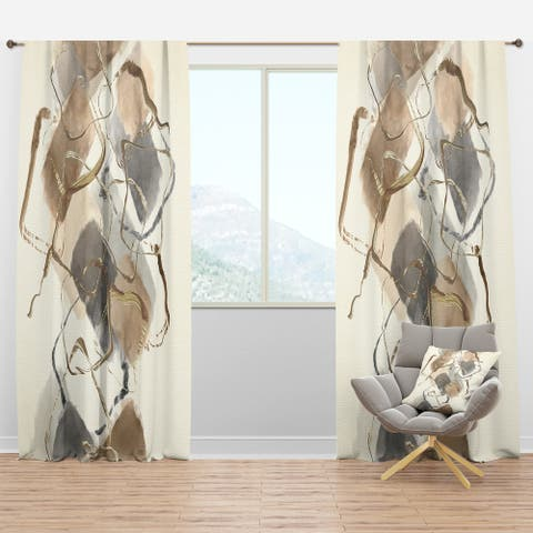 Carbon Loft Hume Modern and Contemporary Curtain Panel