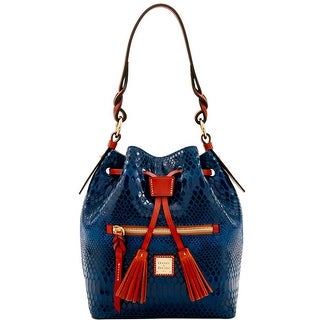 Dooney & Bourke Snake Small Logan (Introduced by Dooney & Bourke at $288 in Nov 2016) - Blue