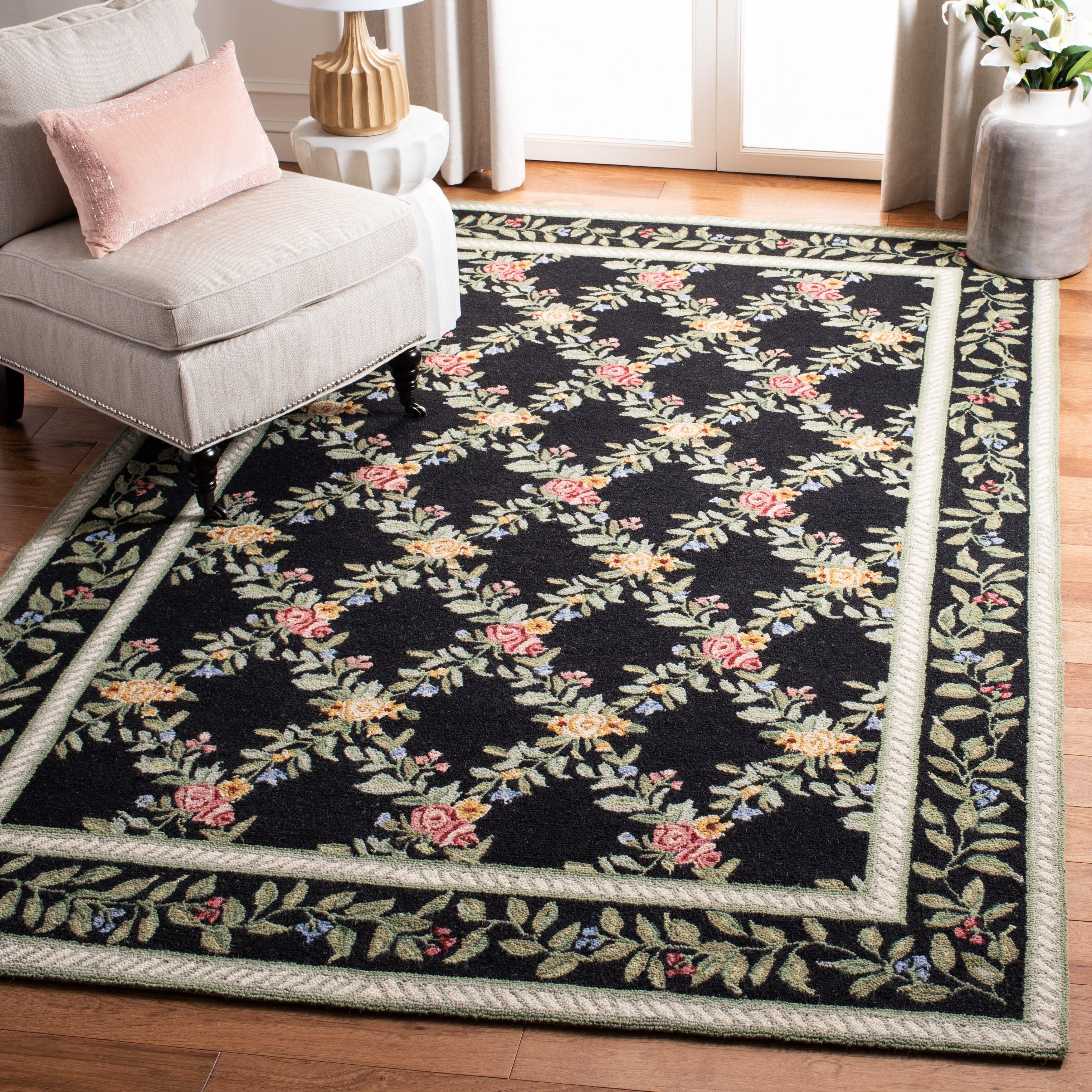 Safavieh Hand Hooked Chelsea Karley Country Oriental Trellis Wool Rug On Sale Overstock 7025940