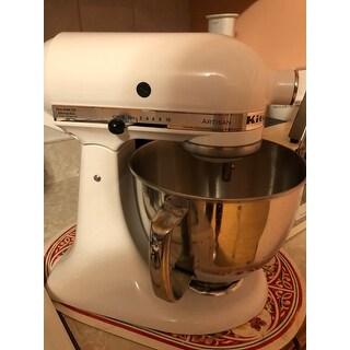 KitchenAid RRK150WH  White 5-quart Artisan Tilt-Head Stand Mixer (Refurbished)