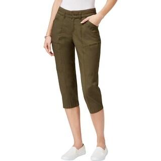 Lee Womens Capri Pants Cargo Casual