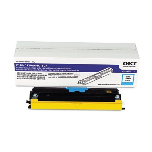 OKI Toner Cartridge - Cyan 44250711 Toner Cartridge