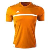 a0cb5264a Adidas Boys MLS 15 Match Jersey T-Shirt Bold Orange/White Size Youth -
