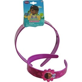 Disney Doc McStuffins Wide Headband - Girls Hair Accessory