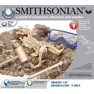Smithsonian Diggin' Up Dinosaurs T-Rex - multi