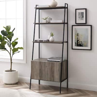 Carbon Loft Lahuri 72-inch Ladder Storage Bookshelf