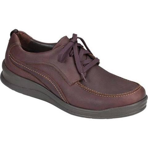 SAS Men's Move On Walking Shoe Brown Leather