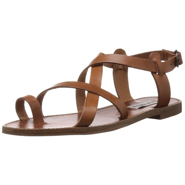 a816bd07bc6 Shop Steve Madden Womens Agathist Leather Split Toe Casual Strappy ...