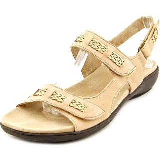 Trotters Kip Women N/S Open-Toe Leather Slingback Sandal