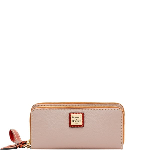Dooney & Bourke Pebble Grain Double Zip Wallet (Introduced by Dooney & Bourke at $168 in Apr 2018)