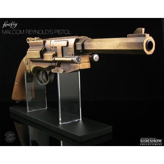 Firefly Mal Reynolds' Metal Plated Pistol Prop Replica - multi