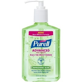 Purell Advanced Hand Sanitizer with Refreshing Aloe, 12 oz