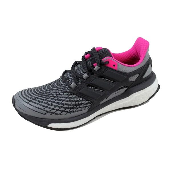 Adidas Women's Energy Boost W Grey/Black-Pink BB3456