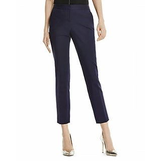 Vince Camuto NEW Navy Blue Women's Size 0 Cropped Slim Dress Pants
