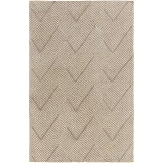 Surya LNX4001-23 Lenox 2' x 3' Rectangle Wool Hand Knotted Geometric Area Rug