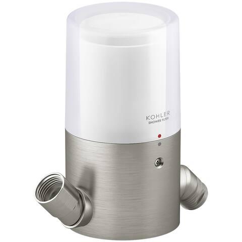 Kohler K-22321 Aquifer Shower Head Water Filter - Vibrant Brushed Nickel