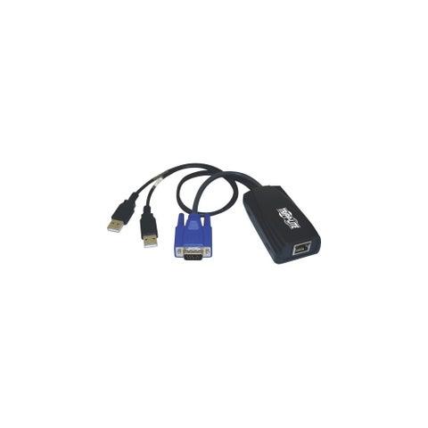Tripp Lite B078-101-USB2 Tripp Lite KVM Switch USB Server Interface Unit Virtual Media HD15 USB RJ45 - 1 Computer(s) - 1 x