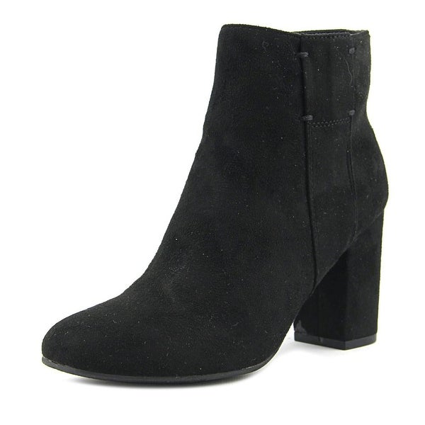 XOXO Claude Round Toe Synthetic Ankle Boot
