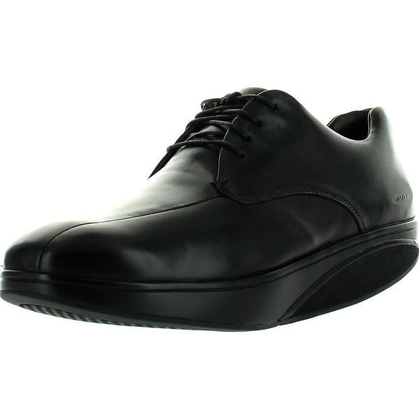 Mbt Mens Bosi Laceup Shoes - Black - 39 m eu