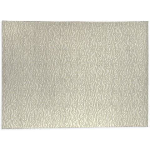 HIGH TIDE IVORY Office Mat By Kavka Designs