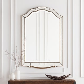 "Link to Hector Elegant Antique Accented Arched Wall Mirror 31.5"" x 47.6"" - 31.5"" x 47.6"" Similar Items in Mirrors"