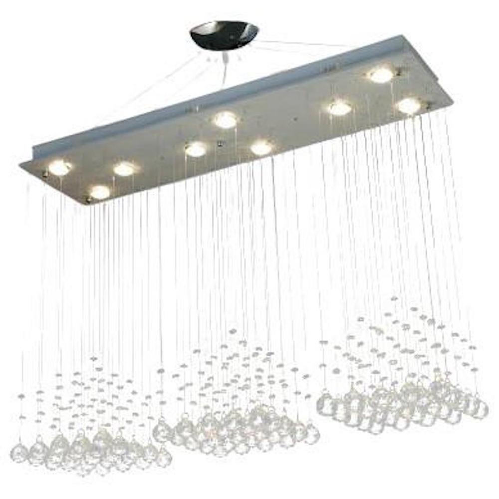 BYB® Modern Chandelier Rain Drop Lighting Crystal Ball